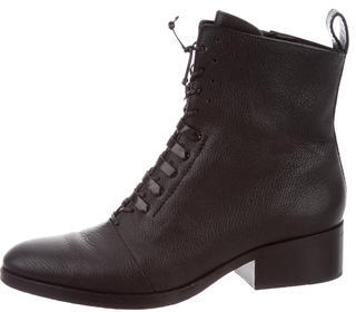 3.1 Phillip Lim 3.1 Phillip Lim Leather Round-Toe Ankle Boots