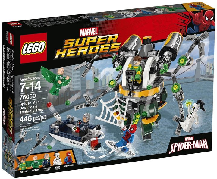 LEGO Super Heroes Spider-Man: Doc Ock's Tentacle Trap - 76059