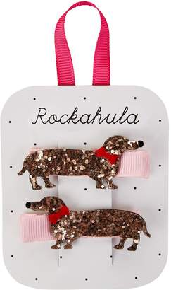 Rockahula Dachshund Hair Clips (Set of 2)