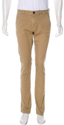 Frame Flat Front Woven Pants