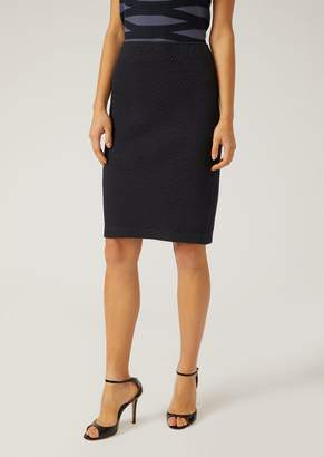 Emporio Armani Knitted Skirt