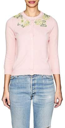 Barneys New York Women's Embellished Cashmere Cardigan - Pink