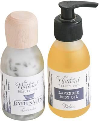 The Natural Beauty Pot - Lavender Bath & Body Gift Set