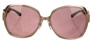 Dolce & Gabbana Oversize Logo Sunglasses
