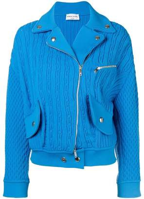 Sonia Rykiel textured biker jacket
