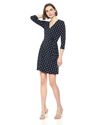 Bailey 44 Women's Tied Down Dot Print Wrap Dress