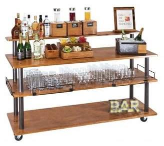 Cal-Mil Madera U-Build Bar Cart Cal-Mil