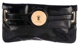 Balenciaga Leather Luna Clutch