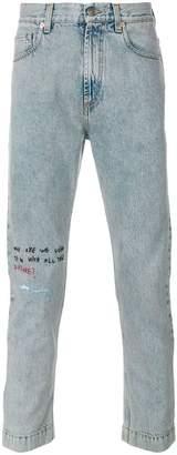 Gucci Coco Capitan cropped jeans