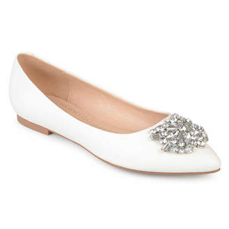 Journee Collection Renzo Womens Ballet Flats