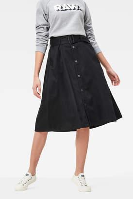 G-STAR RAW Bronson Paperbag Waist Skirt
