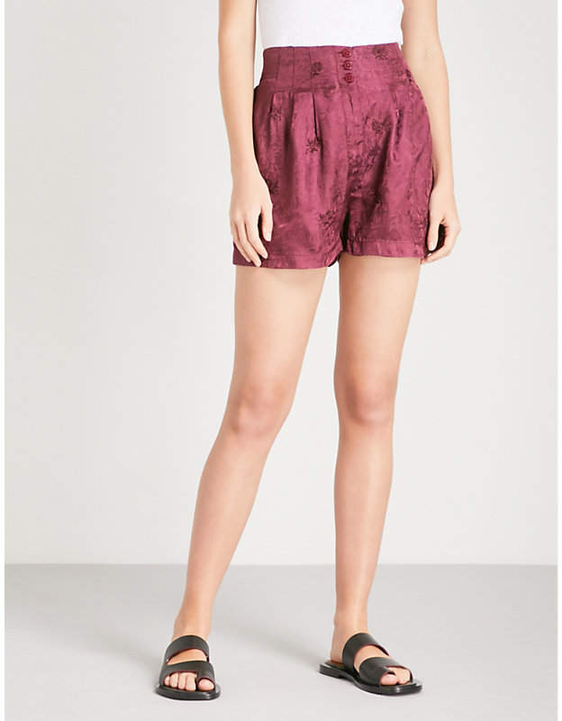 Go Your Own Way jacquard shorts