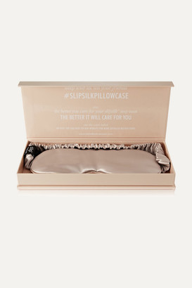 BEIGE Slip - Silk Eye Mask