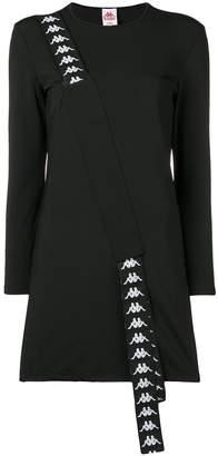 Kappa logo tape sweater dress