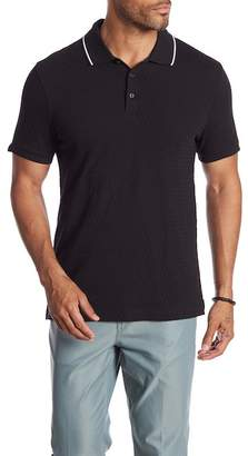 Perry Ellis Short Sleeve Jacquard Polo