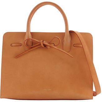 Mansur Gavriel Drawstring Vegetable-Tanned Sun Tote Bag $895 thestylecure.com