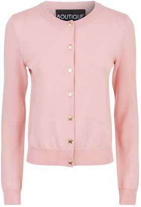 Moschino Star Button Cardigan