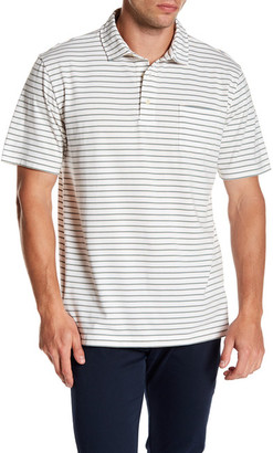 Peter Millar Grandfather Stripe Polo $88 thestylecure.com