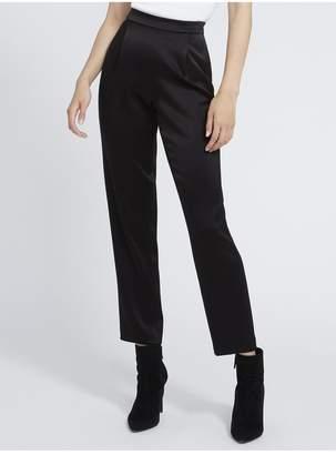 Alice + Olivia Jessie Back Zip Pleated Slim Pant