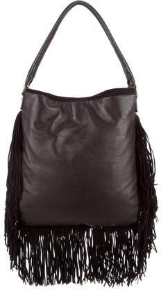 Tory BurchTory Burch Fringe Suede & Leather Shoulder Bag