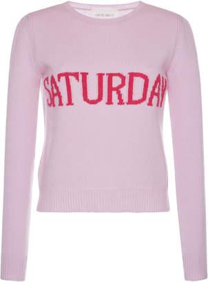 "Alberta Ferretti Cashmere Blend ""Saturday"" Sweater"