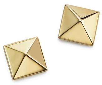 Bloomingdale's 14K Yellow Gold Medium Pyramid Post Earrings - 100% Exclusive