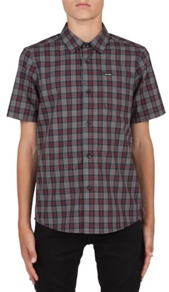 Boy's Volcom Amerson Plaid Woven Shirt $40 thestylecure.com