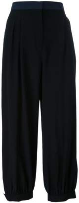 Fendi cropped loose trousers
