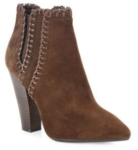 Michael Kors Collection Channing Suede Point Toe Booties