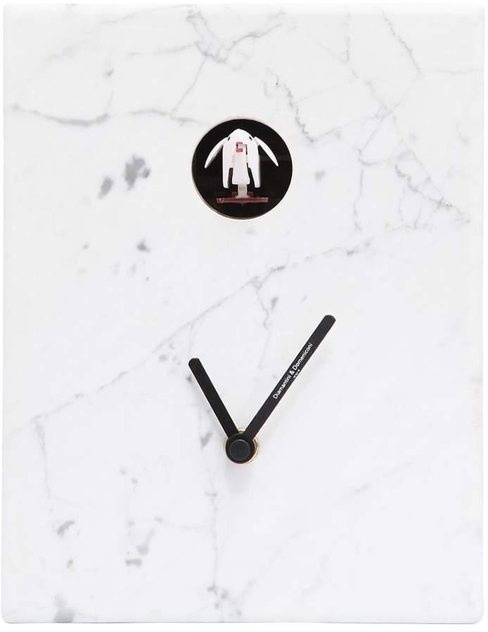 Diamantini & Domeniconi Horloge Coucou En Marbre De Carrara   aiment ...