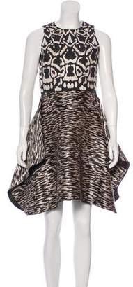 Giambattista Valli Draped Jacquard Dress w/ Tags