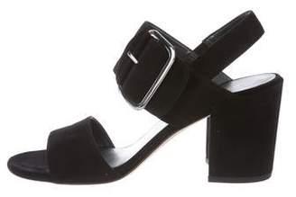 Stuart Weitzman City Sandal Suede Sandals