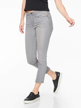 Athleta Sculptek Skinny Crop Jean Granite Wash