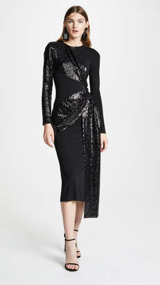 Prabal Gurung Shilu Twist Front Dress