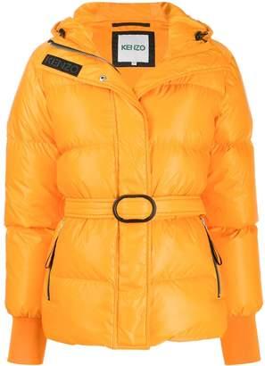 Kenzo belted padded jacket