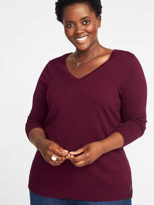 Old Navy Classic Plus-Size V-Neck Sweater