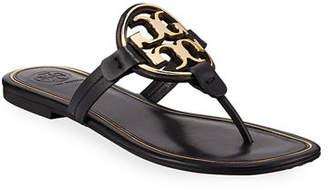 353ff809b609 Tory Burch Black Flat Women s Sandals - ShopStyle