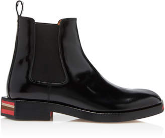 Maison Margiela Stivaletto Geometric Patent Ankle Boots