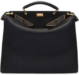 Black Regular Bag Bugs Peekaboo Briefcase