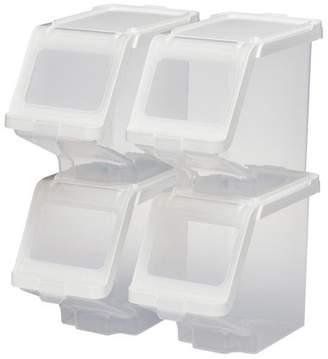 """Buddeez Stackable Storage Bin, 7.5"""" x 5.5"""" x 10"""""""
