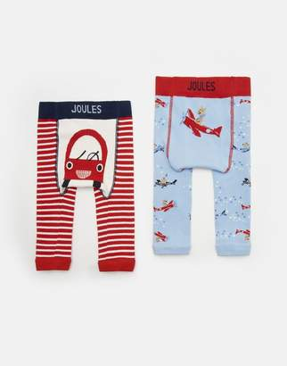 Joules Clothing Lively Character Leggings Two Pack