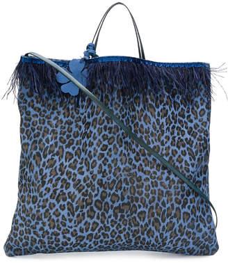 Danielapi leopard print tote