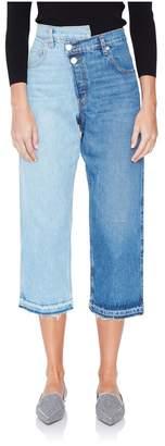 Monse Split Jeans