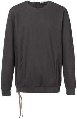 The Viridi-anne back zip sweatshirt