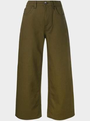 Marni cropped wide leg jeans