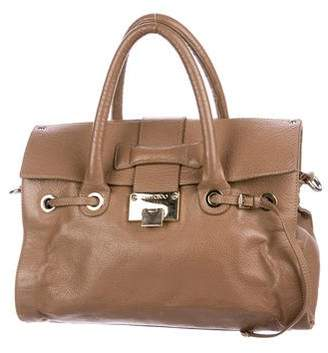 Jimmy Choo Leather Rosalie Satchel