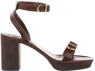 Stella McCartney Stella Mc Cartney Brown Leather Sandals