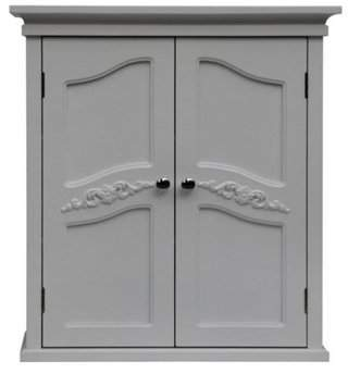 URBAN RESEARCH Chesterfield Versailles Wall Cabinet with 2