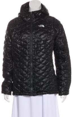 The North Face Long Sleeve Puffer Jacket