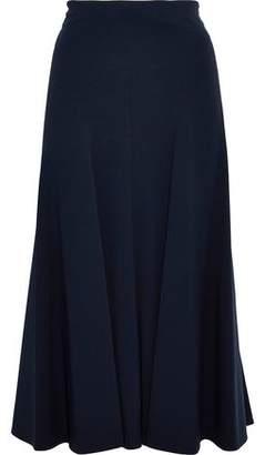 Derek Lam Moore Pleated Cady Midi Skirt